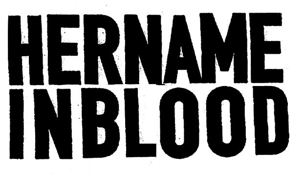 HERNAMEINBLOOD